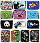COMIC 2oz SILVER TOBACCO TIN,STASH CAN,STORAGE TIN,15 DESIGNS TO CHOOSE FROM