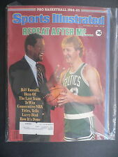 Sports Illustrated October 29, 1984 Larry Bird Bill Russell Celtics Oct '84 B
