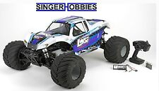 LOSI 1/5 Monster Truck XL Gasoline R/C 4WD RTR with AVC®, White LOS05009T2 HH