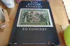 THE DIVINE COMEDY - Affiche de concert / Tour poster VICTORY FOR THE COMIC MUSE