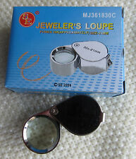 Jewelry Jeweler 's Eye Loupe Loop Magnifying Magnifier 30 x 21mm NEW USA SELLER