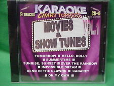 Karaoke Chart Toppers~~Movies & Show Tunes~11~~Over the Rainbow ~ Tomorrow~~CD+G