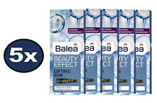 BEST PRICE! 5 PACKS of Balea Beauty Effect Lifting Kur Ampoules Firming Anti-Age