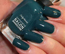 NEW! Sally Hansen Complete Salon Manicure nail polish JUNGLE GEM ~ Blue Teal