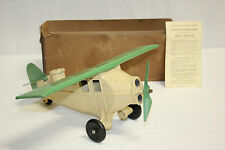 Rare Big Bang 11 P Cast Iron & Metal Bombing Airplane With Original Box EX L@@K