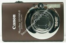 CANON PowerShot SD1100 is  BROWN-RECONDITIONED DIGITAL CAMERA-CLEAR PICTURES