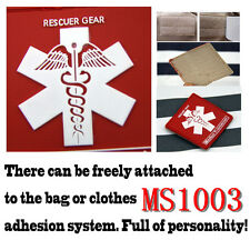 1pc Red Rubber Medical Treatment Rescuer Patch Tactical Magic Patches New