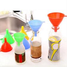 3x Kunststoff Trichter Küche Hauswerkzeug Labor Gadget Flüssigwasser Öl füllen