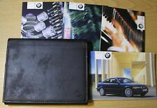 BMW 3 SERIES E46 COUPE HANDBOOK OWNER MANUALS WALLET 1999-2003 PACK 6298