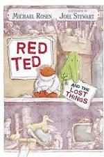 Rosen, Michael Rosso TED E LE COSE PERDUTE libro molto buono