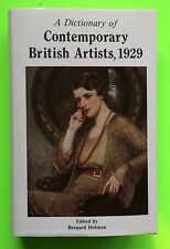 Dictionary Contemporary British Artists 1929 Book Art Painters 4,450 Biographies