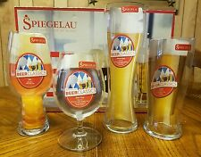 Spiegelau Tasting Kit Craft Beer Glasses Platinum Glass