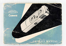 Original Minox IIIS Instruction Manual - 34 pages - printed in January 1955