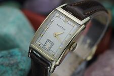"Vintage HAMILTON 982 ""SHERWOOD"" 14K Gold Filled Men's Dress Watch CLEAN"