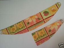 New Curtain Tie Backs Assorted Styles & Colours BLUES BROWN BEIGE & FLORAL