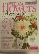 WEDDING FLOWERS & ACCESSORIES MAGAZINE NOV/DEC 2015 BRAND NEW