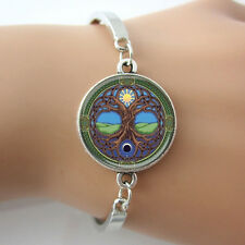 Moon and Sun Celtic Tree of Life Bracelet