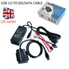 USB 3.0 to HD HDD SATA IDE Adapter Converter Cable OTB High Speed UK