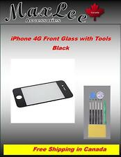 iPhone 4G Front Glass with tools -Black -Ships from ON, Canada