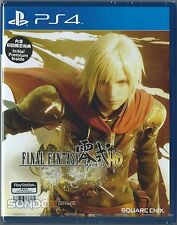 Final Fantasy Type-0 HD HK Chinese & Korean subtitle Version Japan Voice PS4 NEW