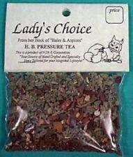 Lady's Choice Herbal Tea High Blood Pressure 5+ cups Loose x3 w/free Cotton bag