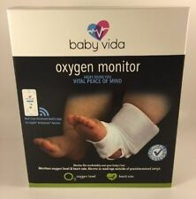 Baby Vida Oxygen Monitor - White 0-12 Months BV-001 *Brand New Sealed In Box*