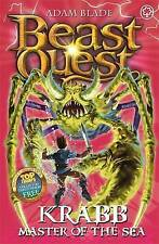 Krabb Master of the Sea (Beast Quest), By Adam Blade,in Used but Acceptable cond