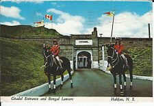 CITADEL ENTRANCE AND BENGAL LANCERS, HALIFAX, N.S.