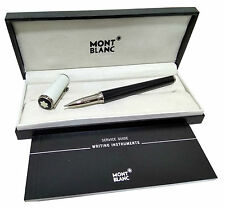 New Mont Blanc Silver/Black Ball pen with Box- Imported