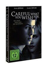 CAREFUL WHAT YOU WISH FOR - BIS DASS DER TOD SIE SCHEIDET  DVD NEU