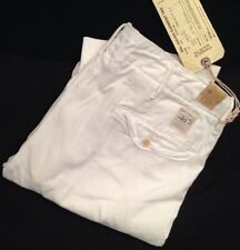 RRL Double RL Ralph Lauren Chino Pants Mens 32 White Cotton Button fly