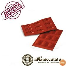 SILIKOMART STAMPO IN SILICONE MADELEINES DOLCI PASTICCERIA SF032 BISCOTTI DOLCE