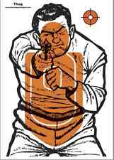 100 Full Size Thug Paper Targets @ .25 cents each!! CHEAP