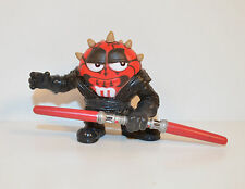 "2005 Darth Maul Red M&M's 2"" Hasbro PVC Action Figure Star Wars Chocolate mPire"