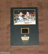 RIC FLAIR SHAWN MICHAELS ROYAL RUMBLE LIMITED edition FILM CELL DVD WWE WWF