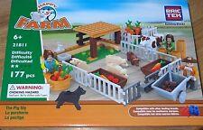 The Pig Sty Farm BricTek Building Construction Brick Block Toy Bric Tek 21811