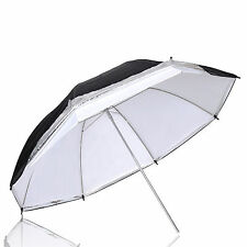 "43"" Photography Studiodouble layers reflective and translucent white umbrella"