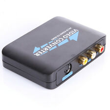 AV S-video TO HDMI Component HD HDTV Video Audio Converter Adapter F PS3 TV STB