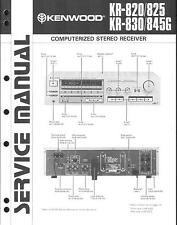 Kenwood Original Service Manual für KR-820-825-830-845 G