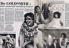 Coupure de presse Clipping 1982 Clio Goldsmith  (4 pages)