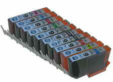 10 pks Comp Ink Cartridges PGI-9 PGI9 for Canon Pixma Pro 9500 Printer