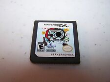 50 Classic Games (Nintendo DS) Lite DSi XL 3DS 2DS Game