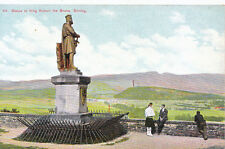 Scotland Postcard - Statue to King Robert The Bruce - Stirling     A452