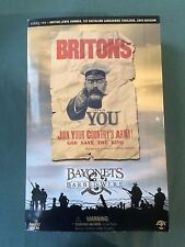 "Sideshow Collectibles 1/6 Scale 12"" Bayonets & Barbed Wire British Lewis Gunner"