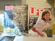 LIFE Magazine (5 from the 60s, 70s & 80s) Neil Armstrong, Cybil Shepherd, Royals