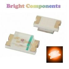 10 x 0805 Orange LED (SMD) - Ultra Bright - UK - 1st CLASS POST