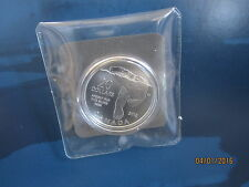 "$20 for $20 99.99% Pure Silver ""Polar Bear ""Coin - COA Sealed in Plastic Wrap"