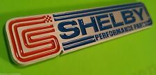 (1) Billet Aluminum Shelby Racing GT500 Supercharged Mustang Emblem Badge