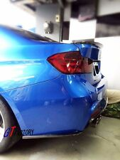 NEW FOR BMW F30 M TECH M SPORTS ONLY CARBON REAR SPLITTER SPOILER