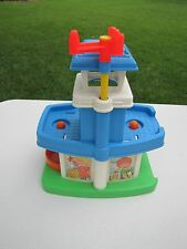 Vintage Fisher Price Little People AIRPORT for Chunky People